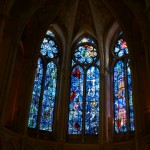 Chagall's windows at Reims Cathedral